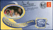 STAR WARS actors Dave Prowse & Jeremy Bulloch signed Science Fiction FDC
