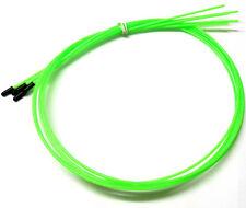 56412g Rc Receptor cable de antena Pipa con Tapas 5 VERDE FLUORESCENTE 1000mm