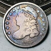 1835 Capped Bust Dime 10C Higher Grade Good Date Early 90% Silver US Coin CC6310