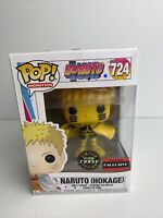 Funko Pop! Boruto #724 Naruto (Hokage) Chase Glow In The Dark W/Protector