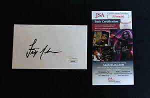 Troy Aikman Cowboys Signed 3x5 Index Card JSA Certified Authentic Autograph HOF