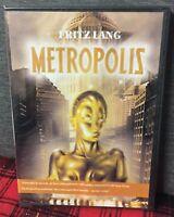 Metropolis (1926) DVD Nuovo Sigillato Fritz Lang Cult Brigitte Helm Habel Rogge