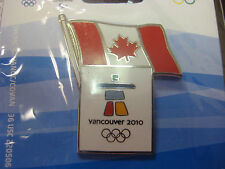 LOT of 25 PINS - Vancouver 2010 Olympics - Canada Flag Pin