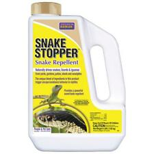 Snake Repellent 4 Lbs. Insect Control Lizard Reptile Iguana Granular Garden Lawn