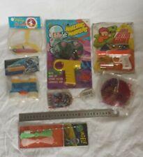 Lot de jouets de l'espace anciens vintage