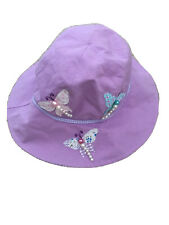 Wallaroo Girl's Sophia UV Sun Hat - Butterflies, 4-8 Years