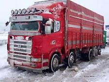 Scania cabine décorations en acier inoxydable accessoires 9 ensembles (21 pièces)