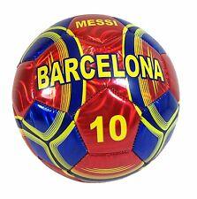 Soccer BARCELONA MESSI #10 Soccer Ball Official Size 5 NEW