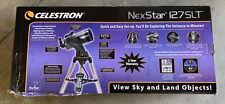 Celestron SLT 127 Telescope Computerized with GoTo Sky Align Star Locating