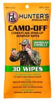 Hunters Specialties Camo Off Camouflage Makeup Remover Wipes 7 x 4 Inch 00299