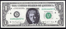 "1988-A $1 ONE DOLLAR FRN FEDERAL RESERVE NOTE ""BILL CLINTON"" GEM UNC"