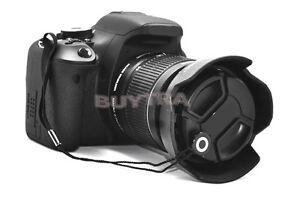 5x Objektivdeckel String Keeper für Nikon Canon Sony Pentax Schutzhüllen 4RSH5