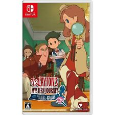 Layton's Mystery Journey Katrielle NINTENDO SWITCH JAPANESE IMPORT REGION FREE