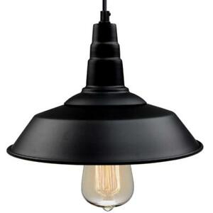 LNC Pendant Light 10 1/5 Inch LED Dimmable Ceiling Barn Adjustable Indoor Metal