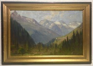 FRANS BIBERSTEIN  American Wisconsin artist 1850-1930    No Res