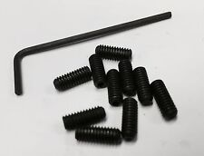 "4ba x 3/8"" grub screws pack of 10 with allen key. model making, live steam."