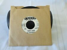 "RARE DAVE BARTHOLOMEW ""YEAH YEAH""  AUDITION  45 RPM  RECORD"