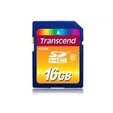 Transcend 16GB Secure Digital High-Capacity Class 10 Flash Card