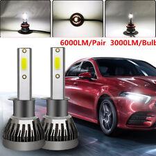 Waterproof 2PCS H1 LED Headlight Bulbs 1500W 6000LM High Beam Bulb Xenon 6000K