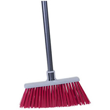 Bulldozer Super Stiff Angle Broom Sweep Rock Mulch Heavy Duty Outdoor New