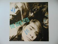 """""""The Buck Pets"""" Group Signed Album Cover Todd Mueller COA"""