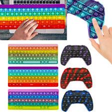 Push Bubble Popit Zappel Spielzeug Fidget Sensory Controller Gamepad Tastatur