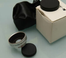 PRL) 28 mm PROFESSIONAL 0.45X WIDE ANGLE LENS FOR DC/DV VIDEO FOTO MACRO CAMERA