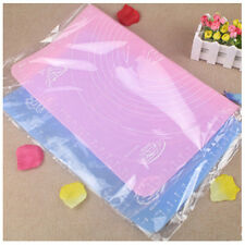 50*40 Large Silicone Roll Cut Mat Square Rolling Cutting Fondant Cake Tool Pad