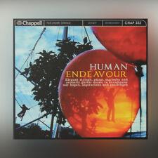 Human Endeavour - élégant Cordes Piano Marimba Et Guitare acoustique - MUSIQUE