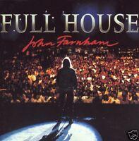 JOHN FARNHAM - FULL HOUSE : LIVE CD ~ 80's / 90's POP ~ YOU'RE THE VOICE + *NEW*