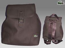 LACOSTE Backpack Rucksack Bag ED Classic 18 Chocolate
