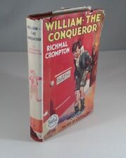 """William The Conqueror"" by Richmal Crompton. Hardcover + DJ 1956 Edition Fiction"