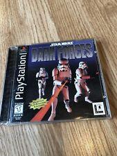Star Wars: Dark Forces (Sony PlayStation 1) Ps1 Resurfaced Disk ES