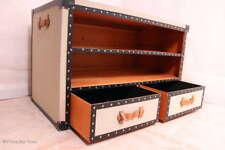 Ausgefallen! Schrankkoffer Tisch Fernsehtisch Medientisch 2 Schubladen 2 Fächer
