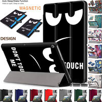 Smart Magnetic Leather Case Folding Stand Cover For Amazon Kindle Fire HD 8 2020