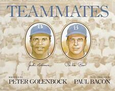 Brooklyn Dodgers Teammates Jackie Robinson Pee Wee Reese HC DJ Illustrated NEW