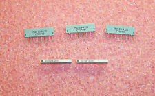 QTY (100)  12 Ohm 8 PIN SIP CERAMIC RESISTOR NETWORKS ISOLATED 750-83-R12 CTS