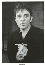Richard Burton Actor. Cleopatra, Hamlet. Genuine Signed Magazine Photo