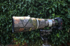 Canon EF 500mm f4 L IS USM neoprene lens camouflage coat cover Forest Camo