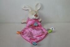 Sunkid Hase Rabbit rosa Schmusetuch Kuscheltuch Schnuffeltuch 30cm TOP RAR