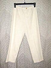 Vintage Rolling Over Tweed Elastic Waist Dress Pants Size Medium