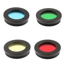 "Color Filter Set Kit for 1.25"" Telescope Eyepiece Lens Planet Moon Surface"