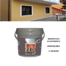 PITTURA Elastomerica a Spessore *ELASTOM* Impermeabile per Esterno da 5-14 L