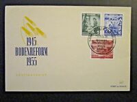 Germany DDR SC# 255 / 257 1955 FDC / Unaddressed / Cacheted - Z4548