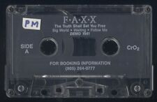 """FAXX - DEMO - CHRISTIAN ROCK METAL - DEMO TAPE 1991 - LATER BECAME """"THE BRAVE"""""""