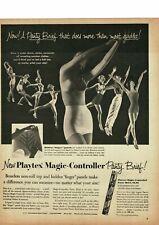 1953 PLAYTEX Magic Controller Panty Brief panties women's underwear Vintage Ad