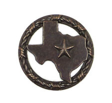 Texas Star Barbwire Drawer Cabinet Knob Pull Southwest Decor ORB