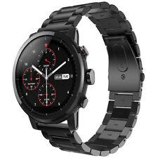 22mm Acero Inoxidable Correa de Reloj para Xiaomi Huami Amazfit Stratos 2 / 2S