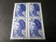 FRANCE 1982, VARIETE' DOUBLE FRAPPE, timbre 2240, LIBERTE', neuf**, MNH