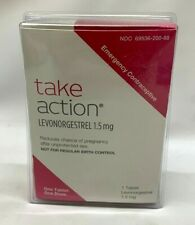 Take Action Emergency Contraceptive 1 tablet 1.5Mg Exp 10/2021 NEW SEALED